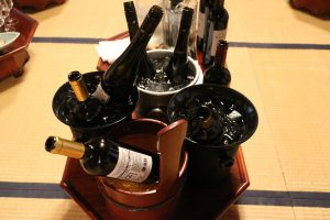 晩秋のワイン会
